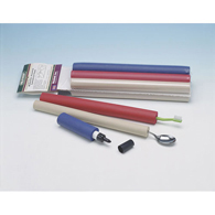 Ableware 766900184 Closed-Cell Foam Tubing by Maddak-Red