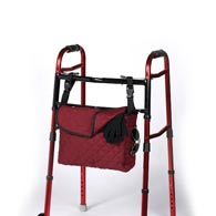 Ableware 703300000/703300001 Cotton Tote Bag for Walkers/Wheelchairs