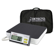 Detecto DR400C Portable Visiting Nurse Scale w/ Carrying Case