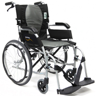 Karman Ergo 2512 Flight Lightweight Wheelchair w/ Quick Release Wheels