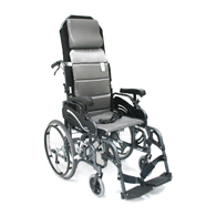"Karman VIP515 Tilt In Space Reclining Wheelchair-20"" Rear Wheels"