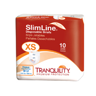 Tranquility 2166 Extra Small Slimline Briefs-100/Case